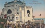 CONSTANTA , VEDEREA GENERALA A CAZINOULUI , CIRCULATA , EDITURA G.T., CONSTANTA, Printata