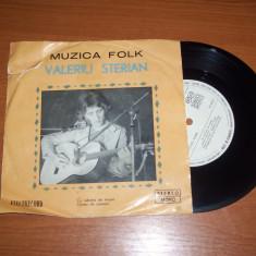 VALERIU STERIAN-MUZICA FOLK disc vinil single (format mic) vinyl pick-up pickup
