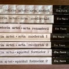 Elie Faure – Istoria artei {set 7 volume} - Carte Istoria artei