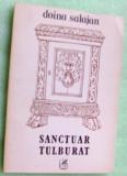 DOINA SALAJAN - SANCTUAR TULBURAT (POEME, 1986) [dedicatie / autograf]
