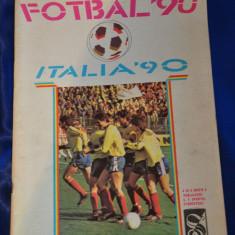 Revista fotbal campionatul Italia 1990. Italia '90.Sportul Studentesc.ITALIA '90