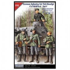 + kit figurine 1/35 - Tristar 35016 - German infantry +