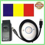 Interfata diagnoza tester auto OP.COM Opel  ~ lb.  ROMANA 2010 si ENGLEZA  2012
