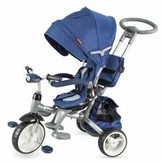 Tricicleta multifunctionala Coccolle Modi albastru - Tricicleta copii