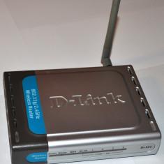 Router wireless G D-Link dl-524 cu alimentator ac, cablu lan si accesorii, Porturi LAN: 4