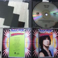Iggy Pop instinct album 1988 cd disc muzica punk pop rock editie vest