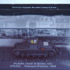 Macheta tanc Pz.Kpfw. I - Pzsczyna - 1939 scara 1:72 - Macheta auto