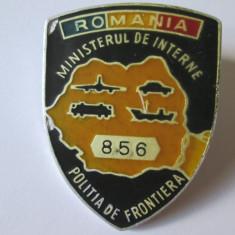 RARA! INSIGNA POLITIA DE FRONTIERA ANII 90