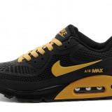 Nike Air Max 90 negru auriu - Adidasi barbati, Marime: 45, Culoare: Din imagine