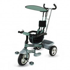 Tricicleta DhsBaby Scooter Plus verde - Tricicleta copii