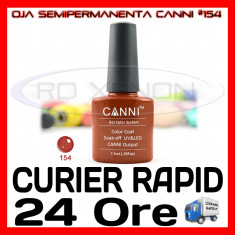 OJA SEMIPERMANENTA (PERMANENTA) OXIDE BROWN #154 CANNI - MANICHIURA UV, Metalic
