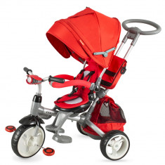 Tricicleta multifunctionala Coccolle Modi rosu - Tricicleta copii Coccolle, Unisex