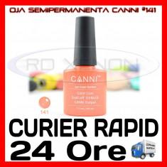 OJA SEMIPERMANENTA (PERMANENTA) BURGUNDY #141 CANNI - MANICHIURA UV, Metalic