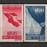 Romania.1945 Primul Congres ARLUS PR.35 - Timbre Romania, Nestampilat