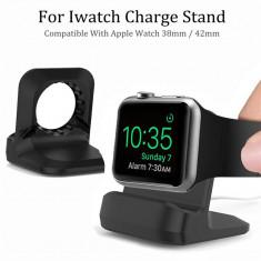 Dock incarcare / suport de birou pt ceas inteligent Apple iWatch 38 / 42mm - Ceas birou