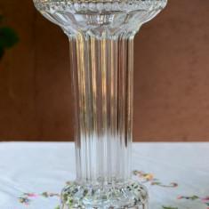 DEOSEBITA VAZA INALTA SI MASIVA DIN CRISTAL L 11 - Arta din Sticla