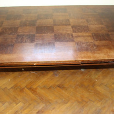 Masa extensibila din lemn masiv; Masa 260X93 cm - Masa living
