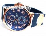Maxi Marine Le Locle Blue and Gold ! Cea Mai Buna Calitate ! !, Lux - elegant, Mecanic-Automatic, Inox