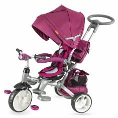 Tricicleta multifunctionala Coccolle Modi violet - Tricicleta copii Coccolle, Unisex