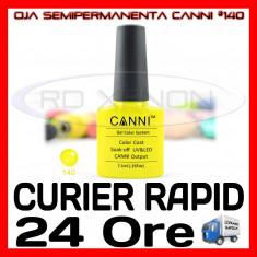 OJA SEMIPERMANENTA (PERMANENTA) SIGNAL YELLOW #140 CANNI - MANICHIURA UV