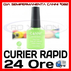 OJA SEMIPERMANENTA (PERMANENTA) LIGHT GREEN #082 CANNI - MANICHIURA UV, Metalic