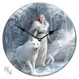 Ceas de perete din sticlă Gardienii iernii