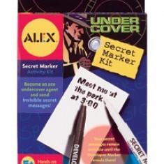 Kit De Spionaj Pentru Mesaje Secrete Alex Toys - Jocuri Logica si inteligenta