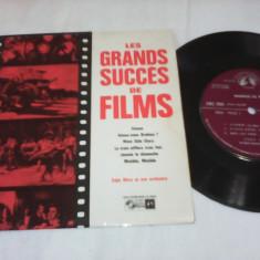 DISC VINIL LES GRANDS SUCCES DE FILMS ANII50-60 RARITATE!!!STARE FOARTE BUNA - Muzica soundtrack