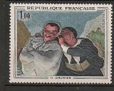 Franta 1966 - PICTURA DAUMIER, timbru nestampilat A108