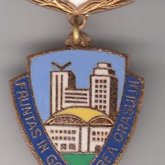 Insigna Fruntas in gospodarirea orasului 1969, Romania de la 1950