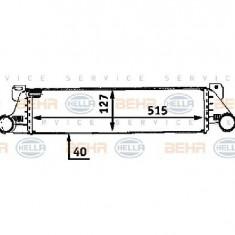 Intercooler, compresor BMW 3 E36 PRODUCATOR HELLA 8ML 376 723-091