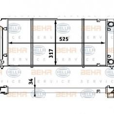 Radiator, racire motor VW GOLF Cabriolet 155 PRODUCATOR HELLA 8MK 376 714-791