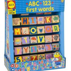 Alfabetar Din Lemn Alex Toys
