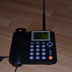Telefon Zte Orange Gsm fix mobil - Telefon mobil ZTE, Negru, Nu se aplica, Single core