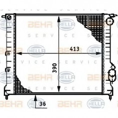 Radiator, racire motor RENAULT EXTRA Van F40 G40 PRODUCATOR HELLA 8MK 376 708-611