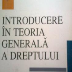 INTRODUCERE IN TEORIA GENERALA A DREPTULUI -IOAN CETERCHI -ION CRAIOVAN (1998) - Carte Teoria dreptului