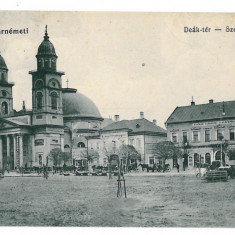 3083 - SATU-MARE, Market - old postcard - used - 1915, Circulata, Printata
