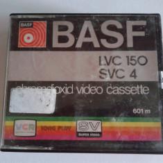 Vand caseta video BASF, LVC 150, SVC 4, VCR, vintage, pt colectie, Altul