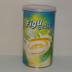 Shake Figuactiv bautură instant dietetică cu gust de mango-papaya 450 g - Supliment nutritiv