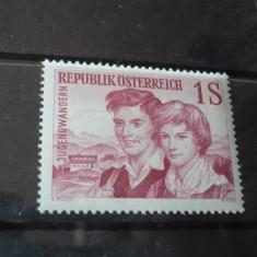 AUSTRIA 1960 – TINERI FERMIERI, timbru nestampilat AC131