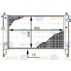 Radiator, racire motor OPEL ASTRA F hatchback 53 54 58 59 PRODUCATOR HELLA 8MK 376 716-071