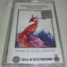 CASETA AUDIO RARITATE!!!PASAREA MAIASTRA GREUCEANU ORIGINALA ELECTRECORD - Muzica pentru copii, Casete audio