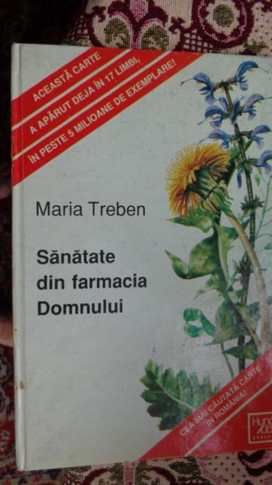 Sanatate din farmacia domnului 124pag.- Maria Treben