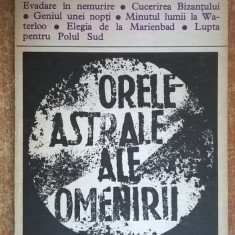 Stefan Zweig – Orele astrale ale omenirii, 1973