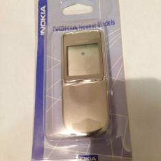 Carcasa nokia 8800 sirocco silver alba noua