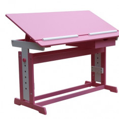 Birou elevi roz cu alb (fetite)