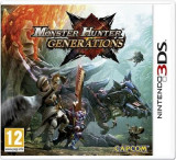 Monster Hunter Generations Nintendo 3Ds, Actiune, 12+, Single player, Capcom