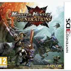 Monster Hunter Generations Nintendo 3Ds - Jocuri Nintendo 3DS, Actiune, 12+, Single player