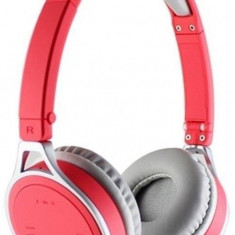 Casti Esperanza Yoga EH160R Close-Air Stereo Wireless Bluetooth 2.1 rosu, Casti On Ear