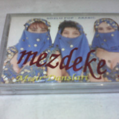 CASETA AUDIO POP-ARABIC MEZDEKE RARITATE!!!ORIGINALA KODA MUZIK - Muzica Lautareasca, Casete audio